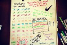 Fitness Motivation Boards / by It girl