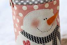 Новый год / О новогодних текстильных игрушках