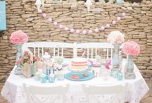 Children's Birthday Party's / Some adorable baby parties!