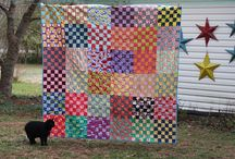 quilts - squares mostly / by Betsy Ercolini