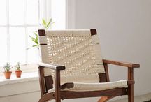 Modern lounge chairs