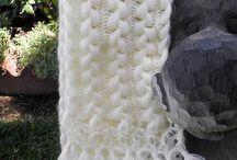 Crochet hairpin lace