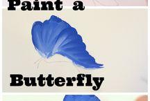 pinceladas butterflies