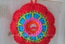 free crochet patterns KEYCHAINS
