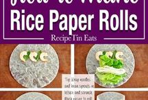 rice papwr rolls
