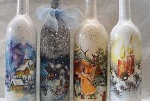 μπουκάλια χριστουγ