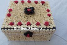 My quilling box / handmade