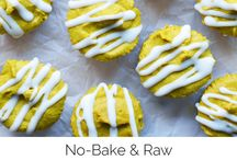 Raw Vegan Dessert Recipes / All raw and no-baked vegan dessert recipes! Cookies, cake, bars and cupcakes that are gluten-free and made without refined sugar and are extra healthy. Ingredients like cacao, oats, dates, cashews, almonds, coconut and other superfoods!
