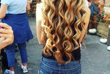 Hair / The coolest hairstyles , color and length