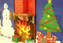 Christmas door!
