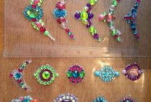 Jewel Clusters Face Painting