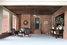 Carport makeover / by Christy Poarch