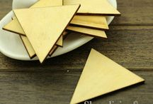 Wood Cut Shapes For Jewellery Making (Necklaces)