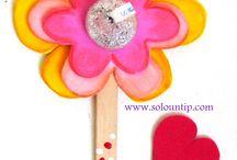 san Valentín niños