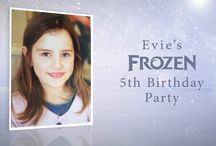 Frozen Party / Our amazing technology can create hundreds of personalised video party invites for your child's party - comes complete with online RSVP, messaging system and reminders. There is nothing else on the market like this!