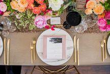 Wedding Reception Detail Ideas / Wedding reception details - centerpieces, table top designs, wedding photography, wedding reception setup, wedding ceremony design ideas, weddings in santa barbara