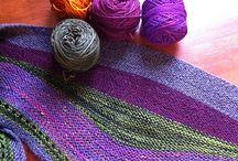 stripped shawl