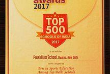 BRAINFEED SCHOOL EXCELLENCE AWARD PRESIDIUM HONOURED IN SPORTS