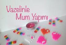 Mum yapımı