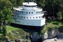 Sea Worthy / Boats on Land