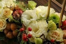 【白×グリーン】生花ギフト / Flower noteの生花ギフトアレンジ。 白×グリーン系のギャラリーです