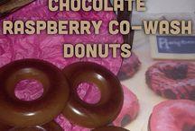 Co-wash Shampoo Bar -Donut Shape / Co-Wash Conditioning Donut
