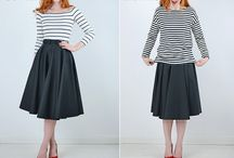 How to wear skirts- chic and easy