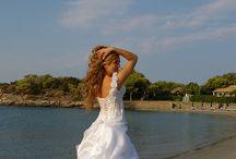 Real Weddings - NANTINA / Real weddings with Brides wearing tailor-made NANTINA wedding dresses.