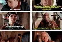 Merlin and Gaius