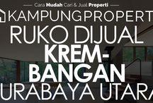 Ruko Dijual / Disewakan di Surabaya Utara