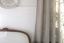 Window treatments & bedding / Draperies, pillows, bedding / by Paula Moore