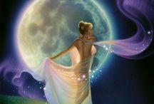 Mond-Fantasy Bilder