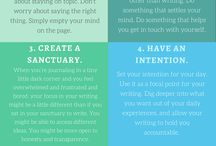 Journaling - Escrita terapêutica