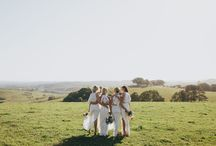 BRIDAL PARTIES / Bridesmaids, #bridetribe, besties.. whatever you call them- this board is a collection of the bridal parties we photograph and photos that inspire us and our work