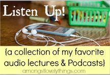 Listen / Stuff to listen to, of course! :)