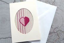 My Handmade Cross Stitch Cards / Cross Stitch cards I make and sell on Artyah & Etsy.