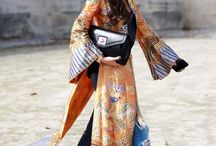 Ao Dai Street Style / When the national costume of our Vietnamese heritage is a street style trend