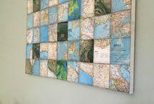Atlas og globus