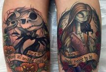 nightmare before christmas tattoo ideas
