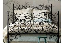 Bed / Wrought Iron bed