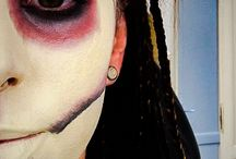 • My make up.. Special effects •