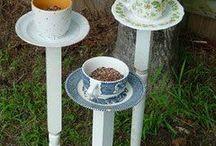 recycled cups/kreativ genbrug af kopper.