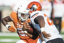 Texas Football vs. Oklahoma State [Sept. 26, 2015] / Two field goals over the final 1:33 of regulation help No. 24 Oklahoma State (4-0, 1-0 Big 12) rally past Texas (1-3, 0-1 Big 12) on Saturday, Sept. 26, 2015 at Darrell K Royal-Texas Memorial Stadium, 30-27.