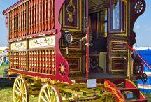 Horse wagons