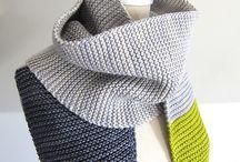 Вязание: шарфы, снуды и прочие шеегреечки