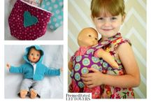 clothes for dolls and toys