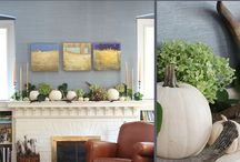 TTDLanc SEASONAL MANTEL TIPS WITH INGLENOOK / Mantel tips for the Fall