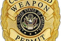 Concealed Weapon Permit Badges