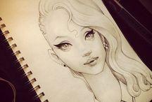 Drawings & paintings & illustrations