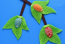 Crafty Kiddos / Fun craft ideas for kids (or the young at heart!) / by Emma @ Our Whimsical Days